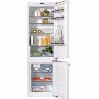 MIELE KFN37452 iDE Built-in fridge-freezer combination | FlexiLight | IceMaker